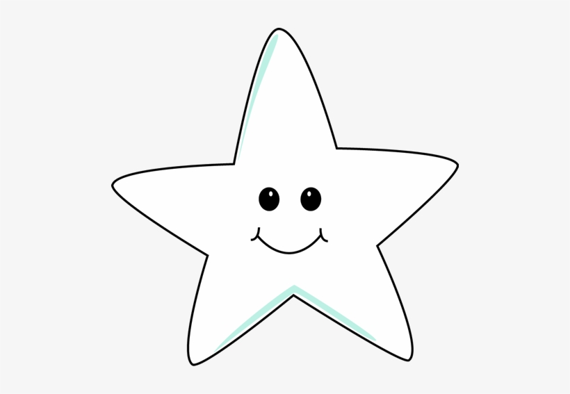 Shooting Star Clipart Smiling Star.