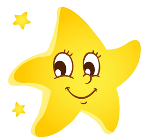 Clipart Stars Smiling.