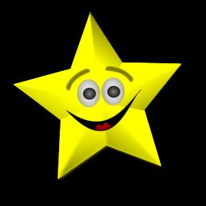 Smiling Star Clip Art at Clker.com.