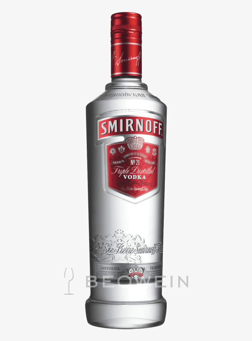 Transparent Smirnoff Vodka Png.
