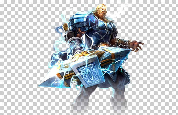 Smite YouTube King of Gods Thor Game, smite PNG clipart.