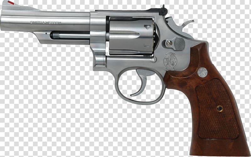 500 S&W Magnum Smith & Wesson Model 586 .357 Magnum Revolver.