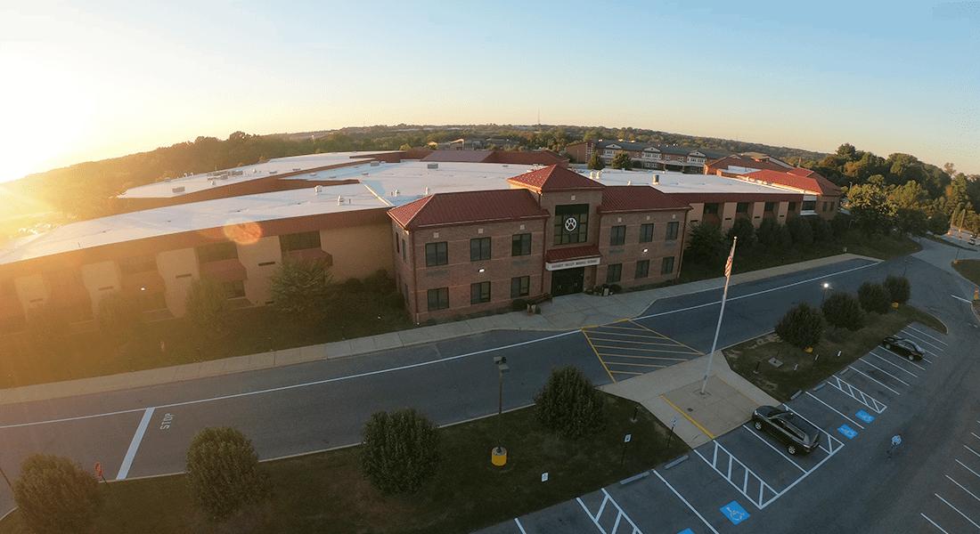 Garnet Valley Middle School.