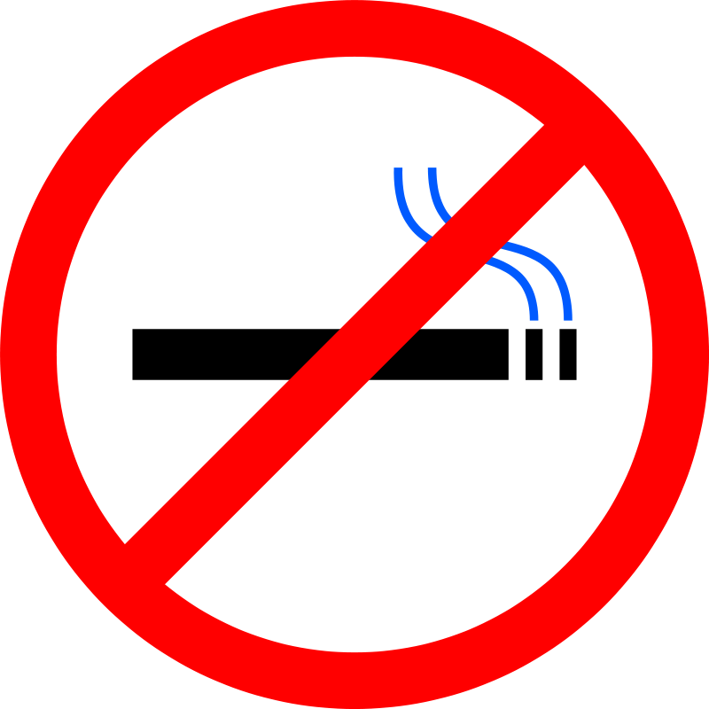 Free Clipart: No Smoking.