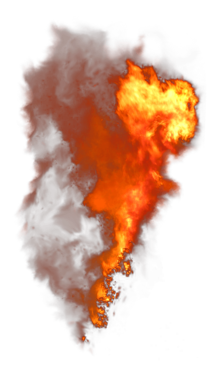 Fire Vertical Smoke PNG PNG Image.