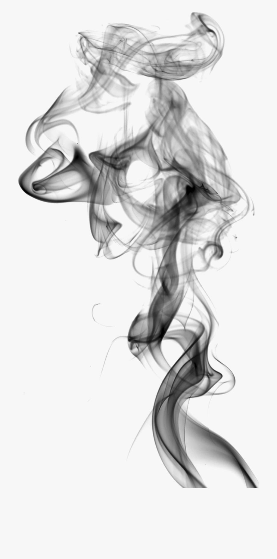 Drawing Smoking White Smoke.