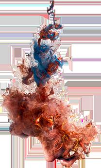 Smoke Bomb Color Png.