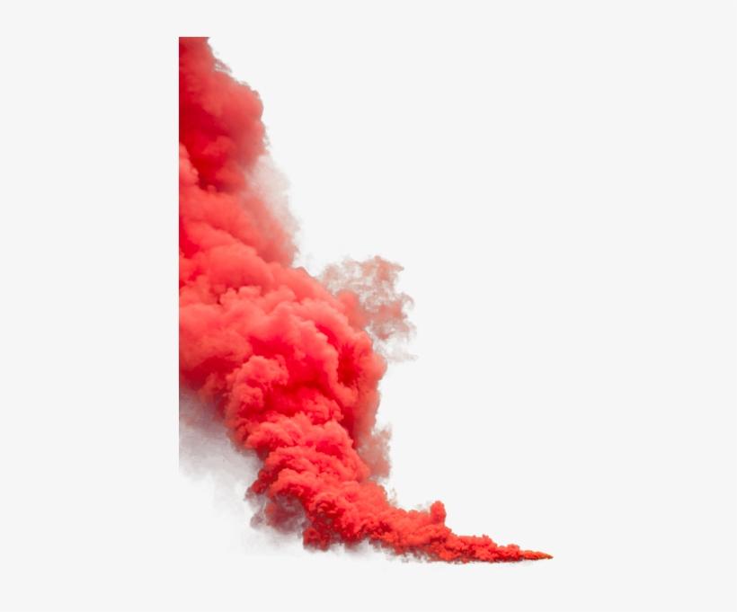 Orange Smoke Png Transparent Image.