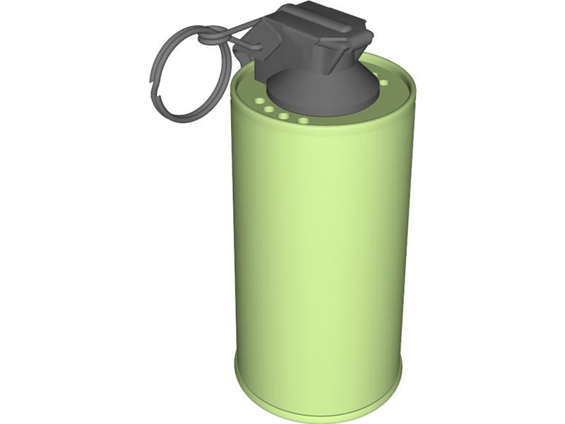 Cartoon Grenade.