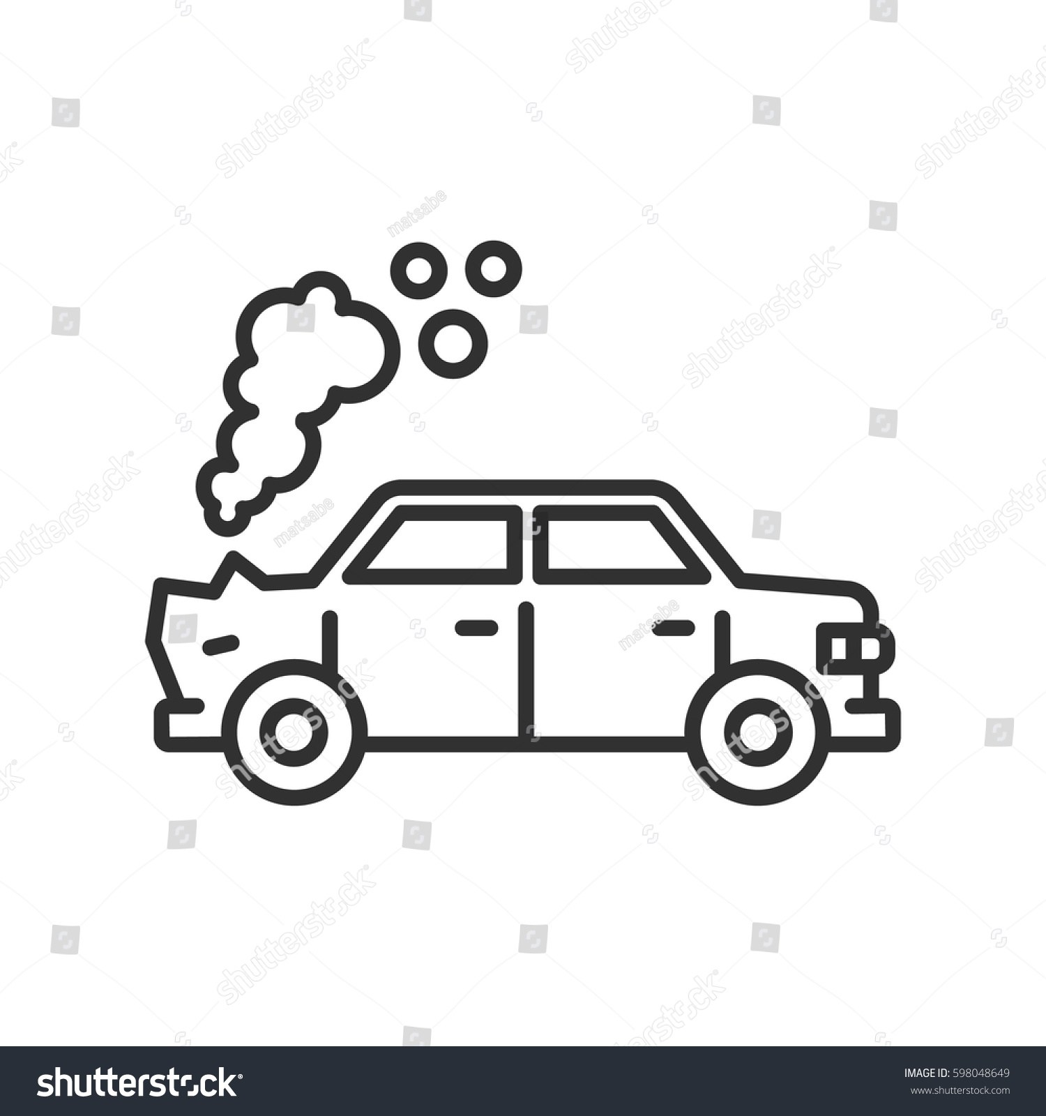 Smoke from car clipart black and white 7 » Clipart Portal.