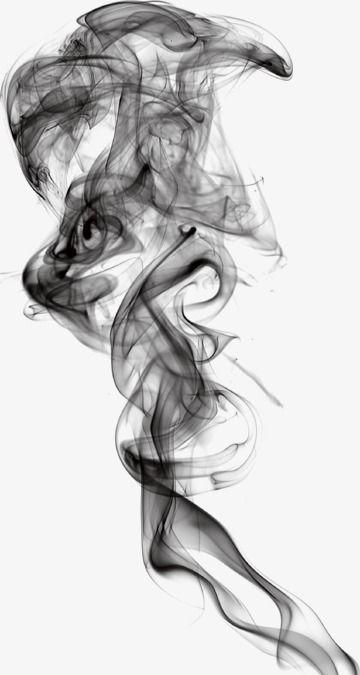 Smoke Effects, Smoke, Black PNG Transparent Clipart Image.