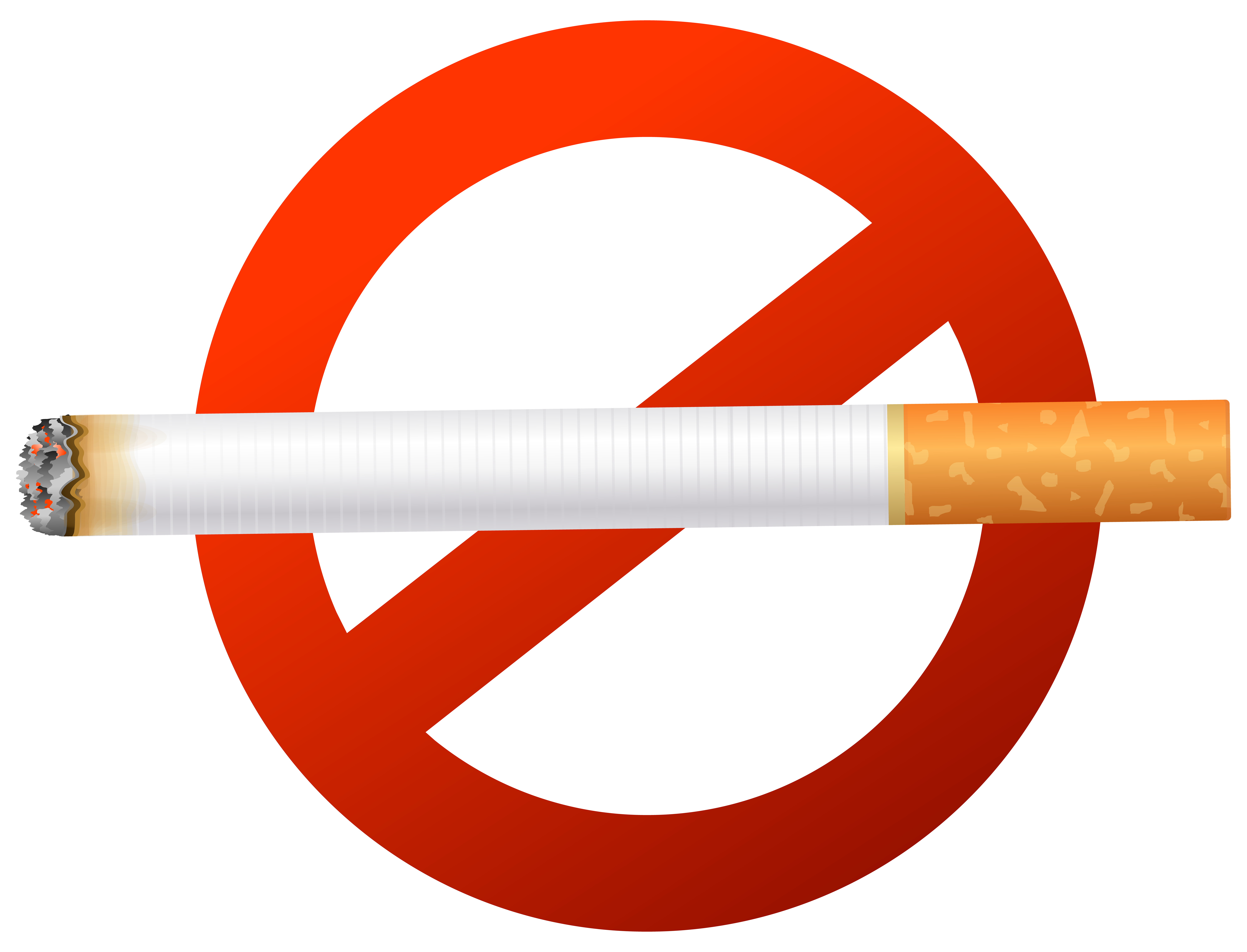 Cigarette Smoking cessation Smoking ban Clip art.