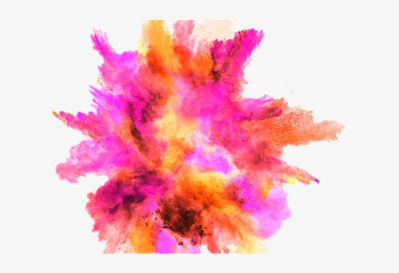 Drawn Smoking Explosion.