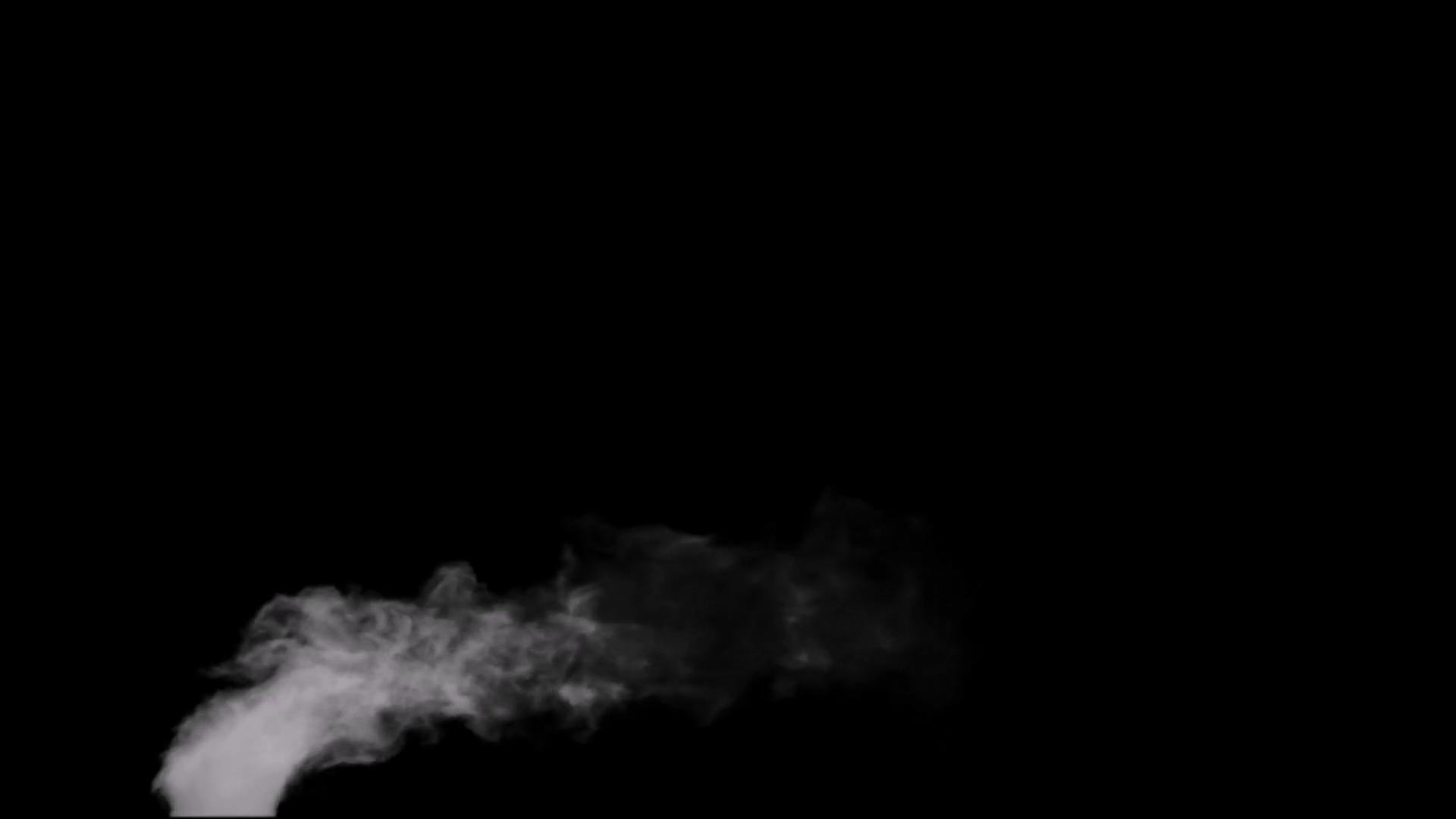 Design Elements Chimney Like Smoke Effect 2 Stock Video Footage.