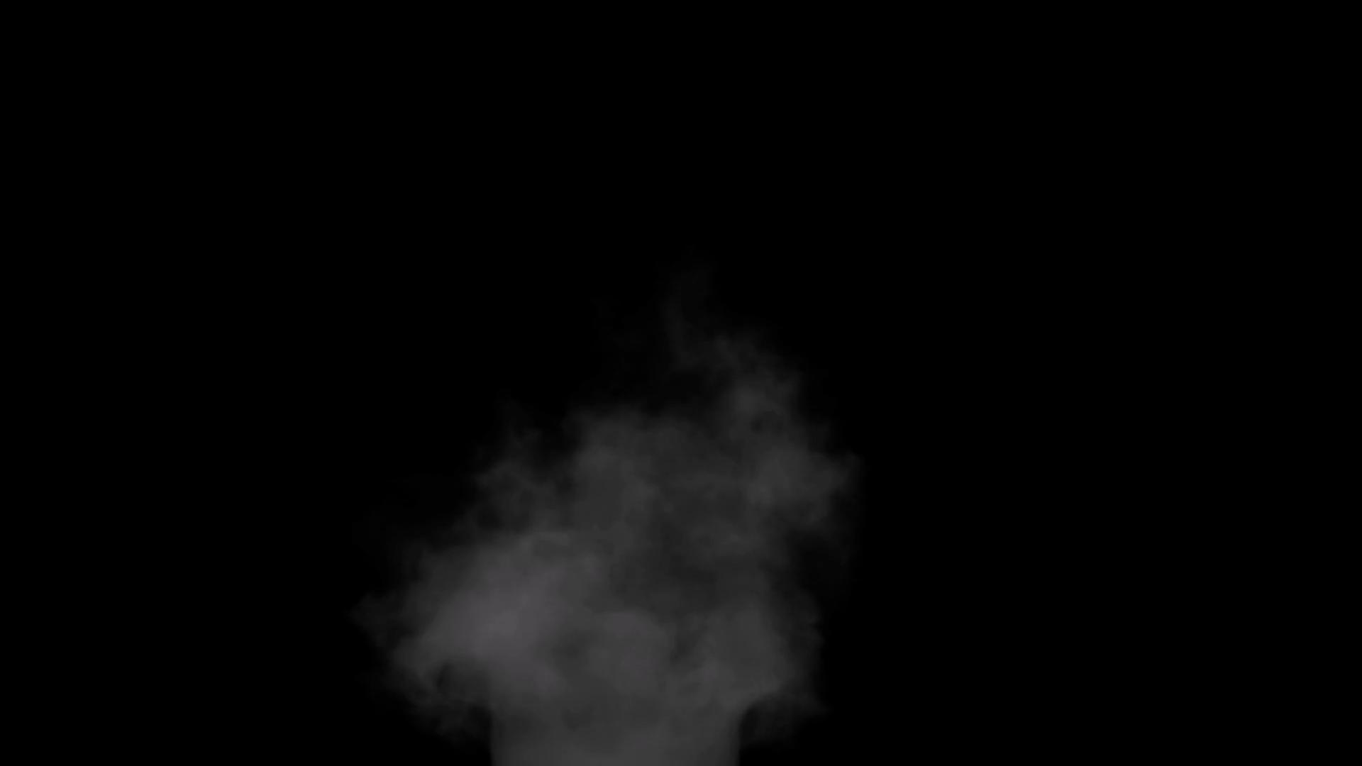 Design Elements Chimney Like Smoke Effect 6 Stock Video Footage.