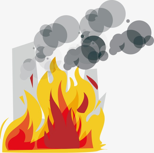 Fire and smoke clipart 3 » Clipart Portal.