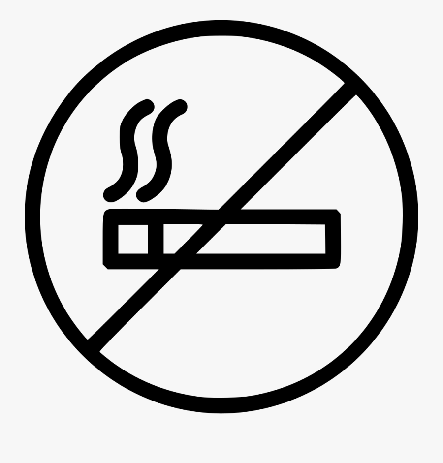 No Smoking Smoke Free Not Smoke Never Smoke Sign.