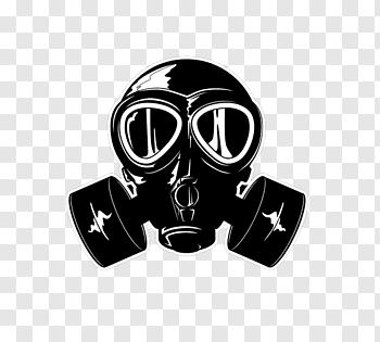 Gas Mask cutout PNG & clipart images.