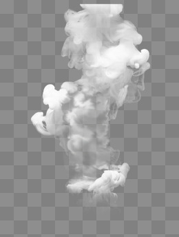 White Smoke Dynamic Vector Daquan #28983.