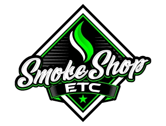 Smoke Shop Etc logo design.