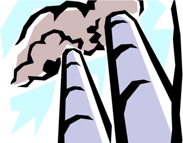 Industrial Clipart Smoke Stacks.