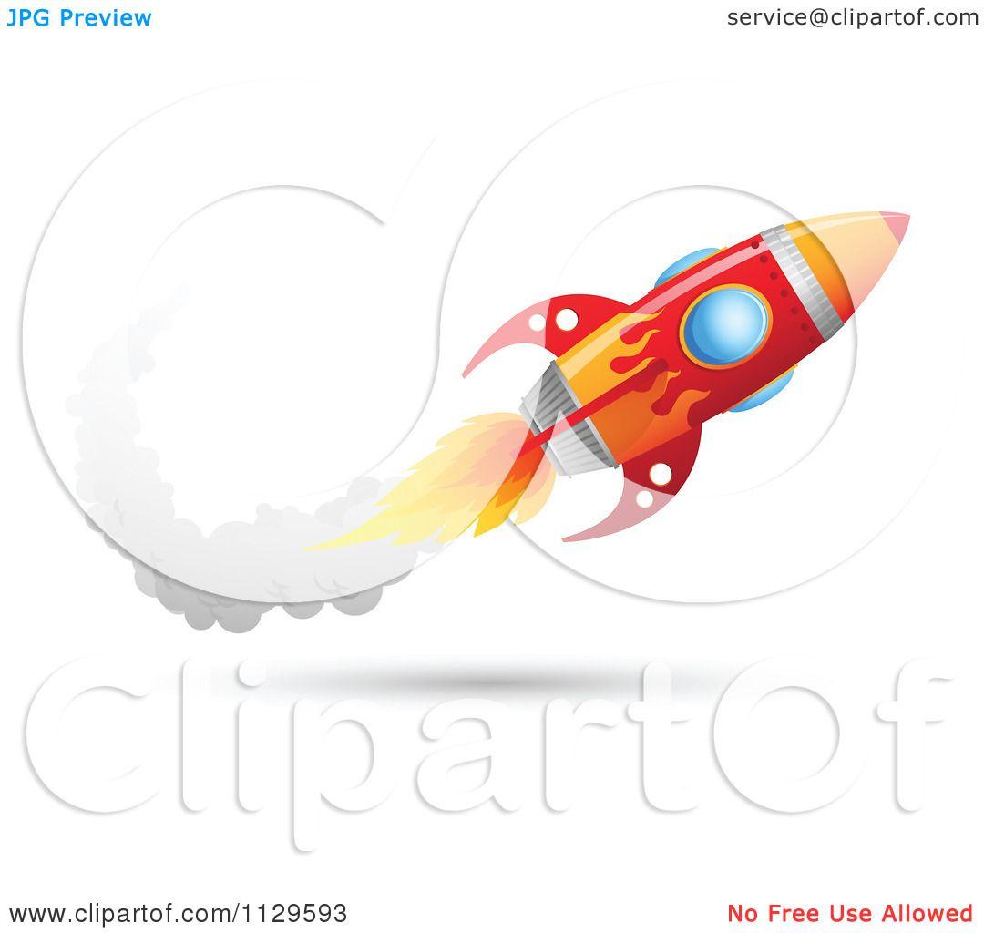 Showing post & media for Cartoon rocket trail.