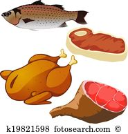 Smoked ham Clipart and Illustration. 260 smoked ham clip art.