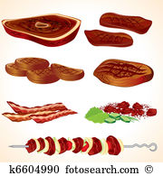 Smoked meat Clipart EPS Images. 1,871 smoked meat clip art vector.