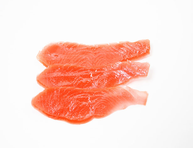 Smoked Salmon Free Stock Photo.