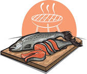 Whole Fish Clip Art.