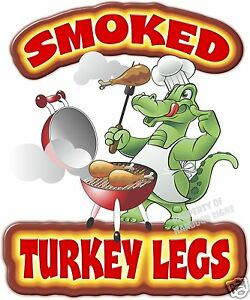 Details about Smoked Turkey Legs 14\