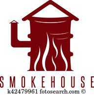 Smokehouse Clipart Illustrations. 19 smokehouse clip art vector.
