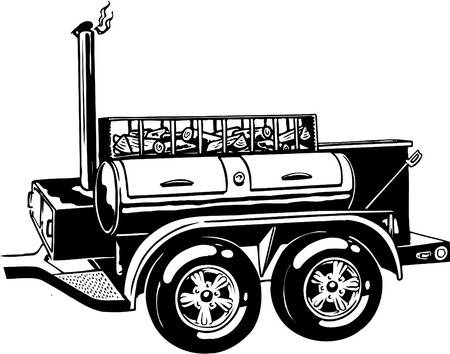 Bbq smoker clipart 5 » Clipart Station.
