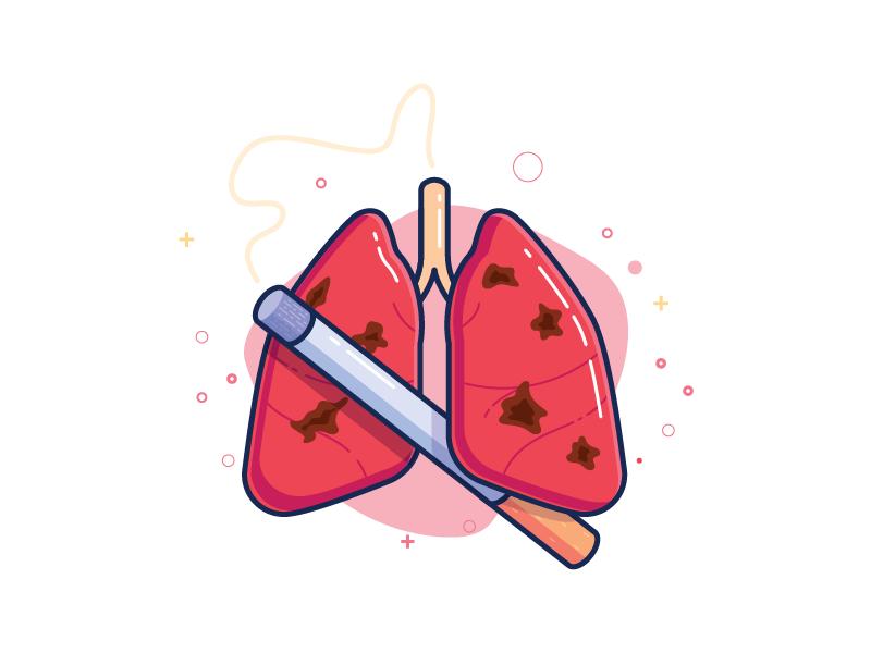 Lungs clipart lung smoker, Lungs lung smoker Transparent.