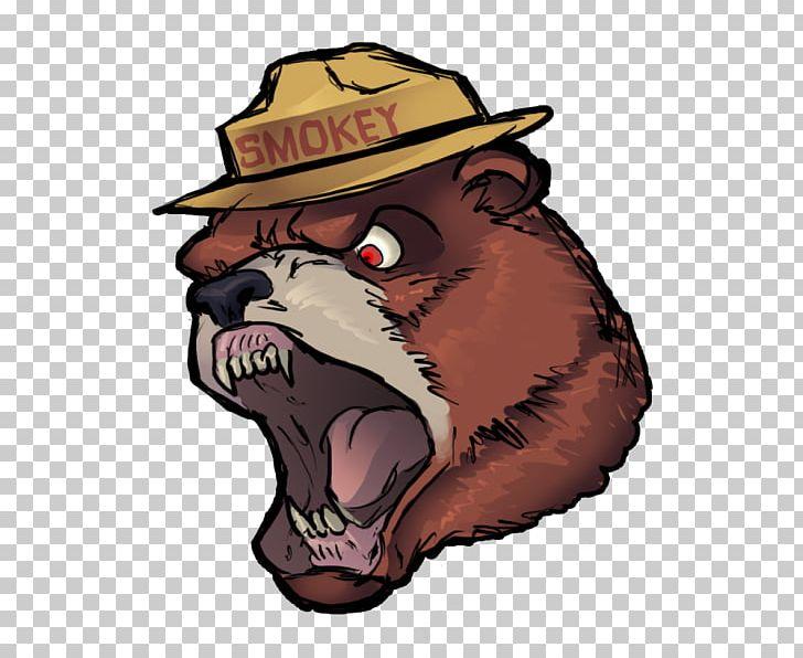 Smokey Bear Grizzly Bear PNG, Clipart, Animals, Avatar, Bear.