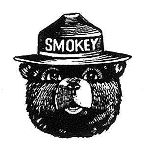 Smokey Bear (U.S. National Park Service).