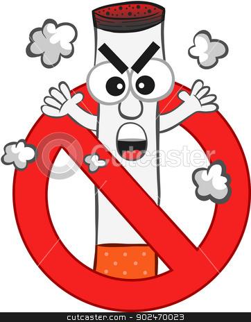 Cartoon Cigarette Clipart.