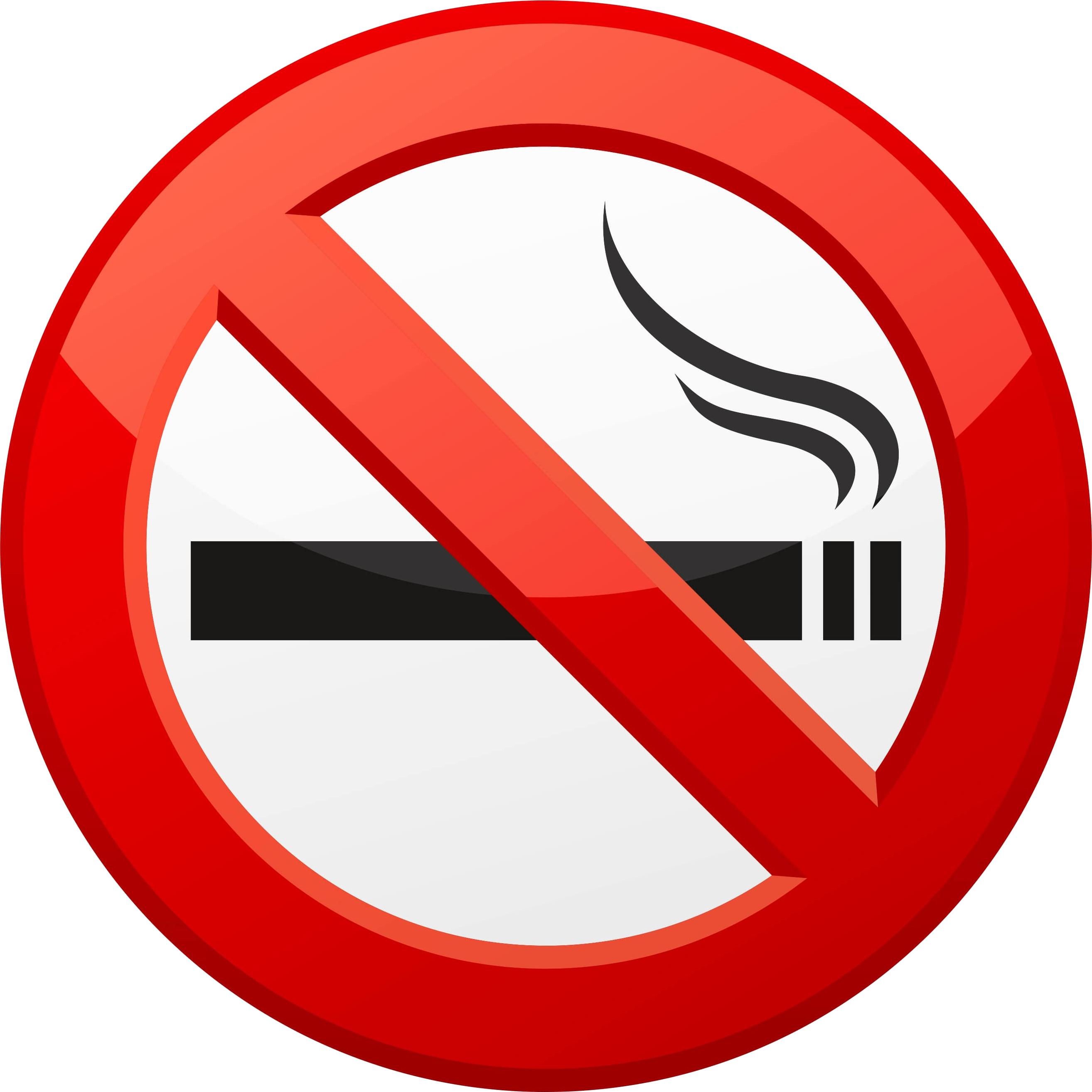No smoking PNG images free download.