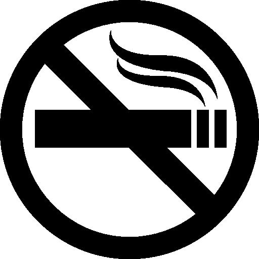 No smoking sign Icons.