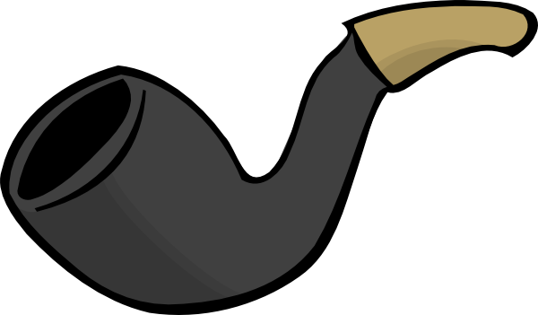 Smoke Pipe clip art Free Vector / 4Vector.
