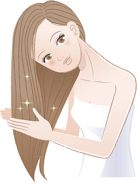 Smooth Hair Clip Art, Vector Images & Illustrations.