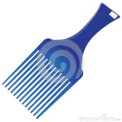 Vector Smooth Hair Royalty Free Stock Images.