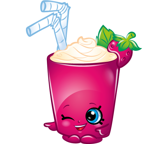 Berry Smoothie Art Official Shopkins Clipart Free Image.