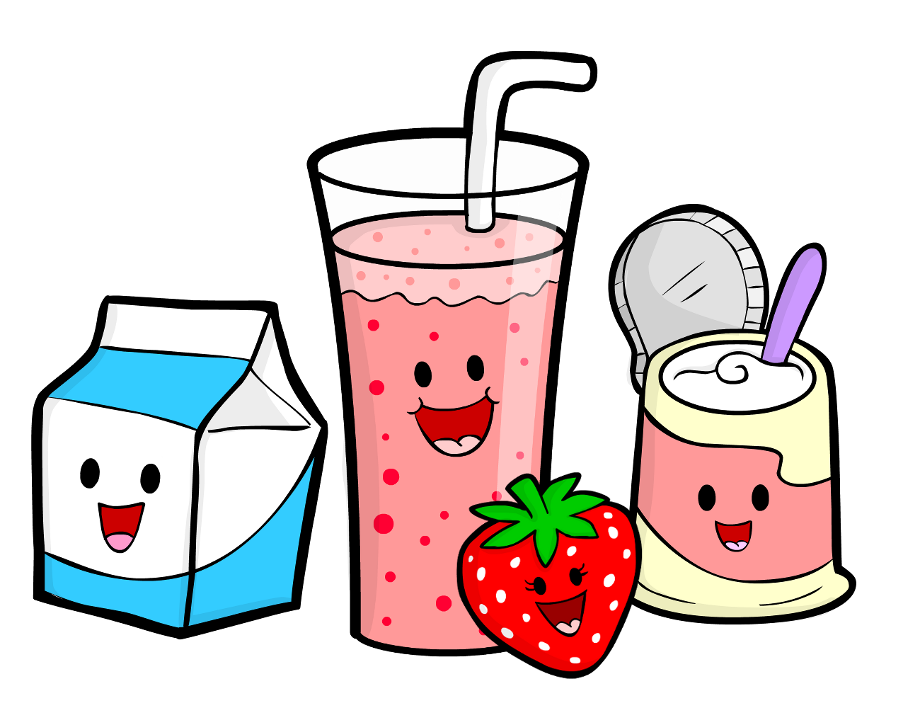 Smoothie Clipart.
