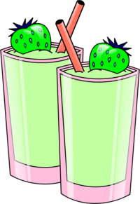 Green smoothie free clipart.