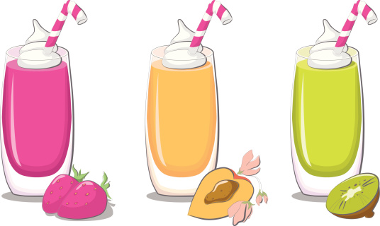 Free Clipart Smoothie Drinks.
