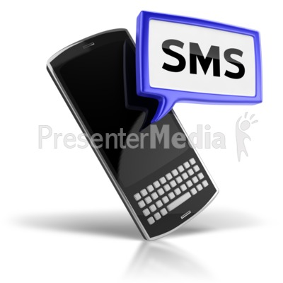 SMS Text Messaging Icon.