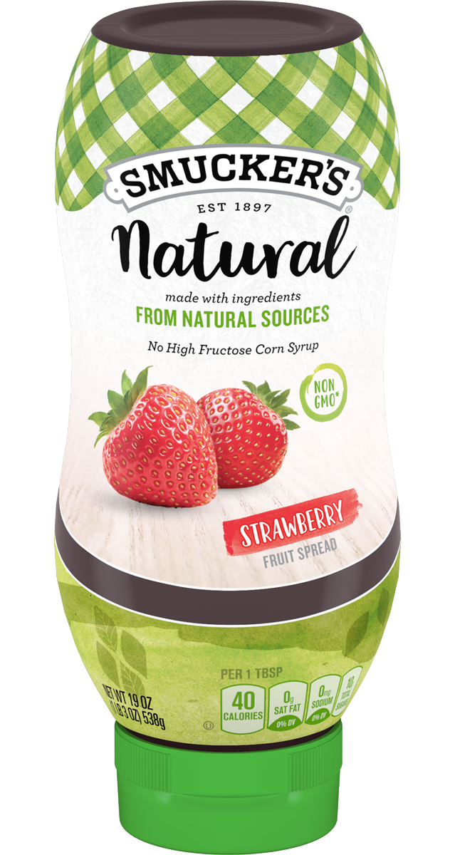 Natural Squeeze™ Strawberry Fruit Spread.