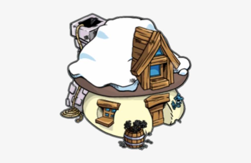 Smurfs Clipart Smurf Village.