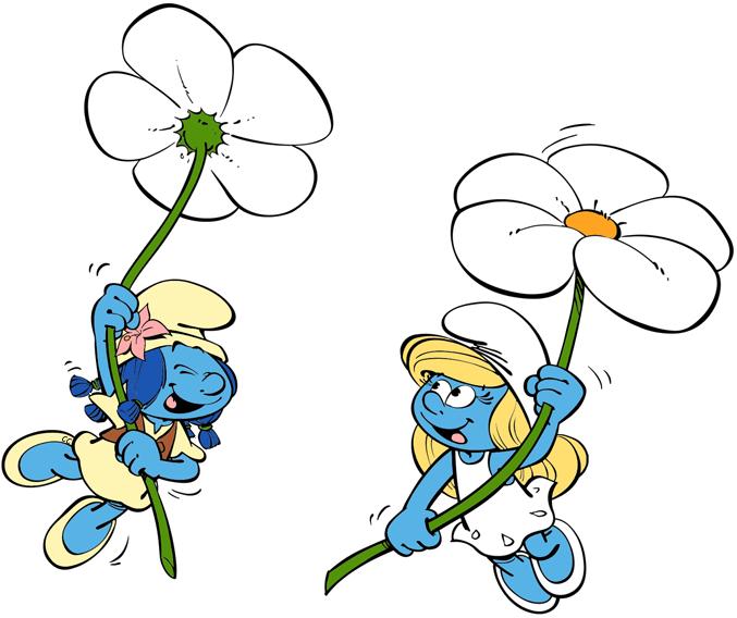 Smurfs: The Lost Village Clip Art.